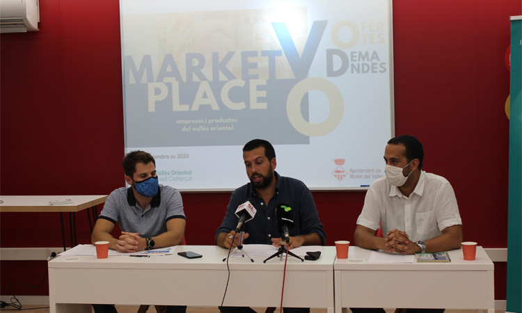 La nova plataforma MarketplaceVO es presenta a Mollet