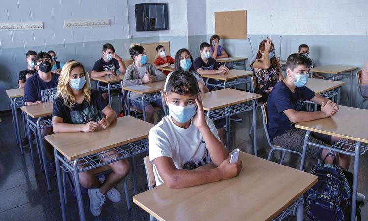 Un retorn atípic a les aules: comença el curs més complicat