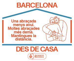 Barcelona des de Casa Sant Martí