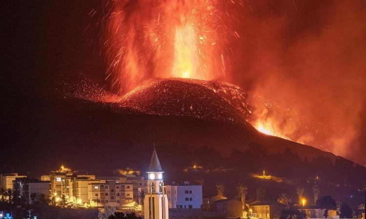 Erupció volcà La Palma