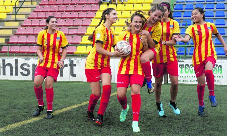 Jugadores UE Sant Andreu