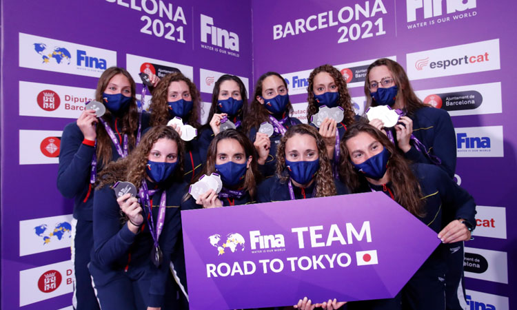 De Barcelona a Tòquio:l'èxit de la selecció espanyola de natació artística