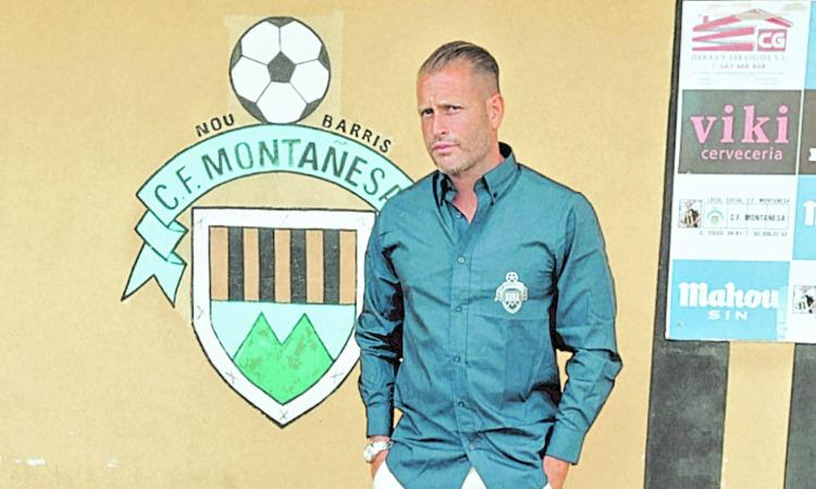 Pedro Garcia CF Montañesa