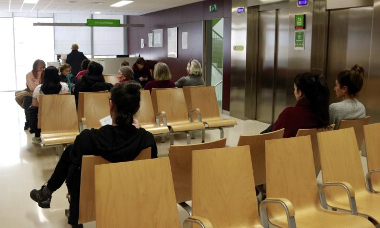 Sala espera CAP Compte Borrell