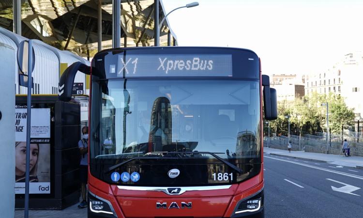 Bus X1 TMB