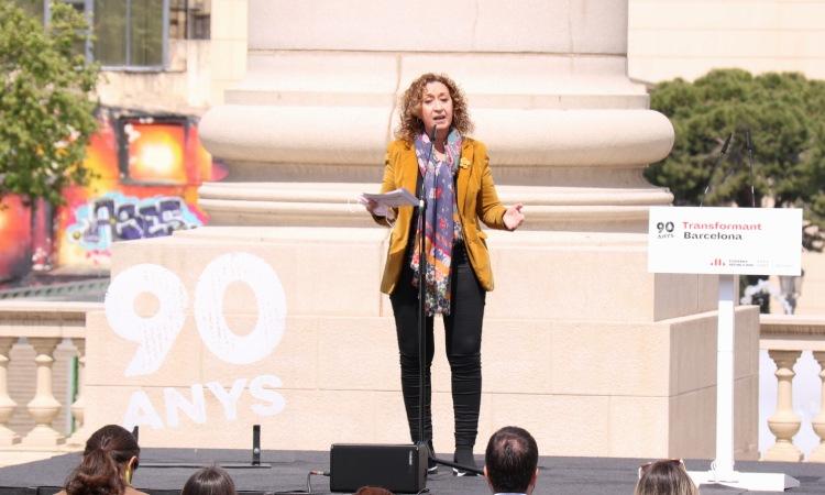 """Ester Capella vol """"acompanyar"""" Maragall a Barcelona en les pròximes eleccions"""