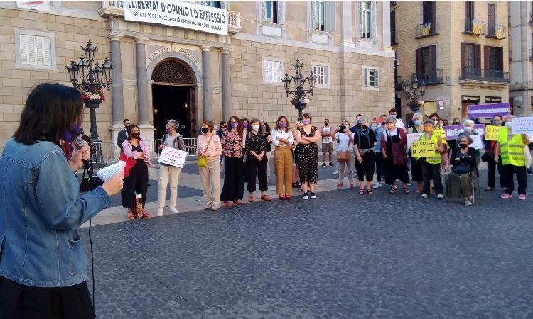 Protesta contra el masclisme
