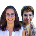 Larissa Saud i Marilda Sueiras