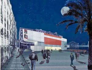 Imatge virtual de la futura Filmoteca del Raval