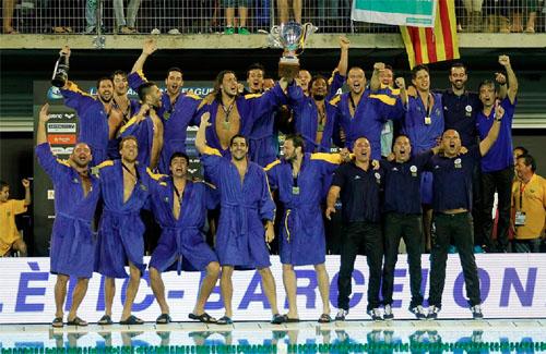L'Atlètic-Barceloneta és l'actual campió d'Europa. Foto: CNAB