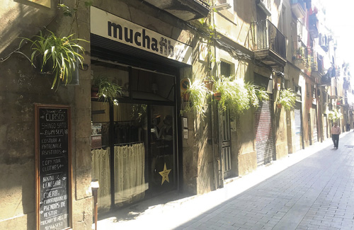 'Mucha Fibra' és un referent de l'economia social. Foto: Ajuntament