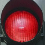 Llum vermella a l'Ajuntament de Barcelona