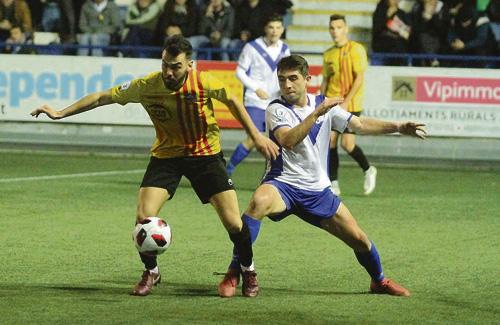 L'últim partit a casa va ser el derbi contra el Sant Andreu. Foto:CEE