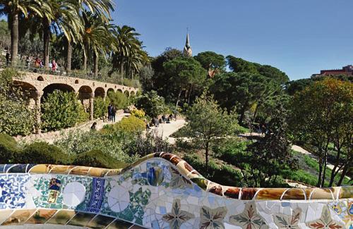Una imatge recent del Park Güell. Foto: Districte