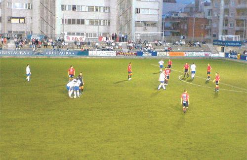 Una imatge del partit del Centenari contra l'Osasuna del 2007. Foto: CAO