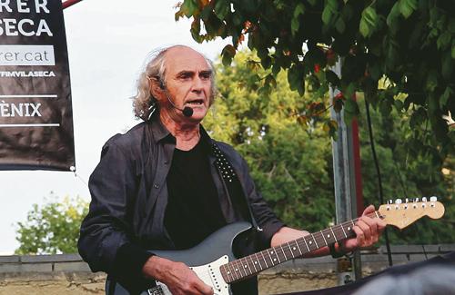 Pau Riba, un dels protagonistes de la Festa Major de Vallcarca. Foto: Arxiu