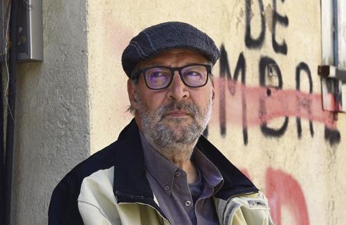 Banchelli, després de deixar la vaga de fam. Foto: Cristian López