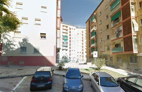 Una vista del carrer Lledoner. Foto: Google Maps