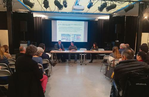 El projecte es va presentar el passat 11 de gener. Foto: Districte
