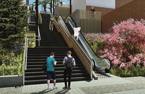 Imatge virtual de com serà la zona un cop acabin les obres. Foto: Ajuntament