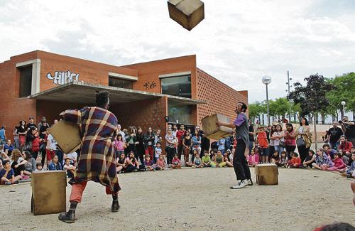 Una imatge de l'edició del festival de l'any passat. Foto: Casa Groga