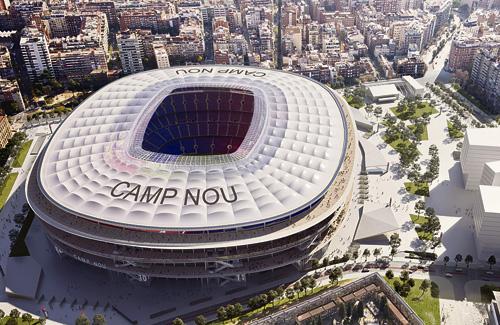 Imatge virtual del futur Camp Nou. Foto: Ajuntament