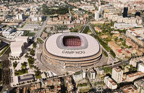 Una reproducció virtual del futur Camp Nou. Foto: FC Barcelona
