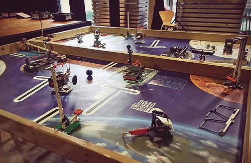 La First Lego League ja té la nova edició en marxa. Foto: Districte