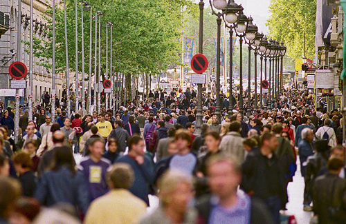 Una quarta part de la població de Barcelona és d'origen estranger. Foto: Arxiu