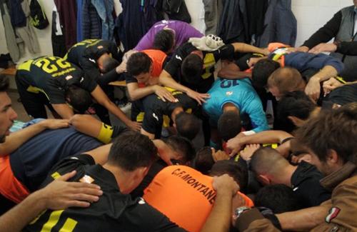 L'equip és una pinya i està en plena forma. Foto:Twitter (@Pedro9garcia)