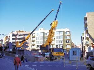 La plaça Havaneres estarà enllestida a mitjans del 2011