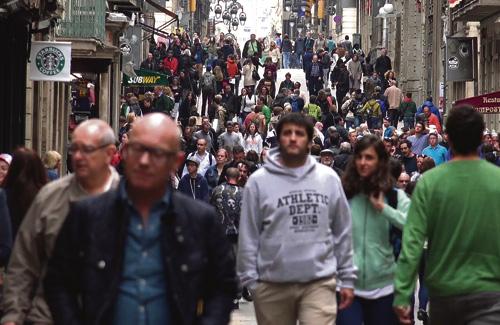 Un 4% més de veïns han passat a formar part del que es considera classe mitjana. Foto: Arxiu