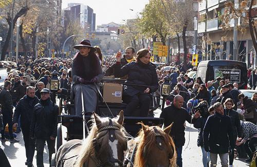 Els Tres Tombs, un clàssic de Sant Andreu. Foto: Districte