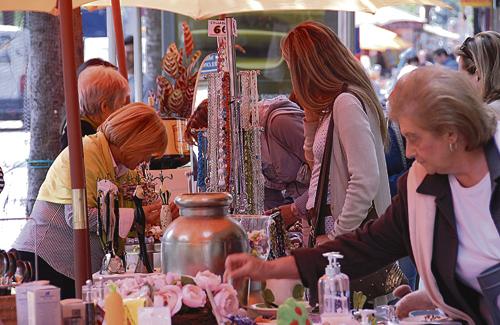 El comerç sortirà al carrer demà durant tot el dia. Foto: Arxiu