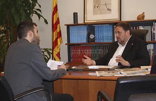 """Junqueras: """"El Baix Llobregat té dificultats d'estructuració; tothom ho sap"""""""