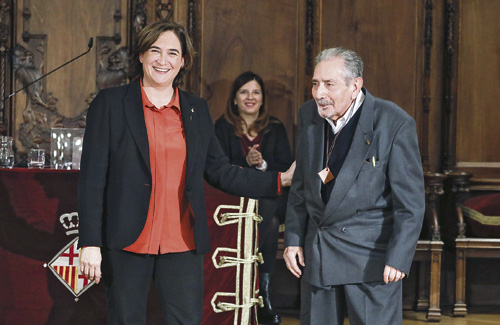 Pere Guarro i l'Associació Sant Martí Esport, Medalles d'Honor