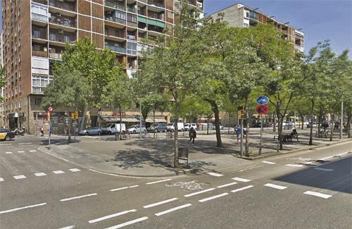 L'acte es farà a rambla Guipúscoa amb Julián Besteiro. Foto: Google Maps
