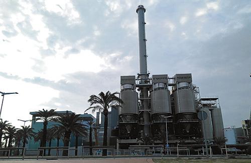 La incineradora de Tersa fa anys que aixeca recels. Foto: Arxiu
