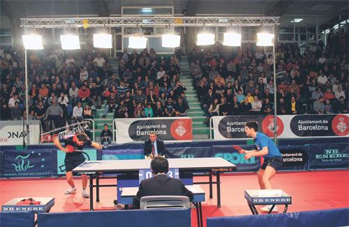 Prop de 1.000 persones van assistir com a públic al torneig. Foto: Ajuntament