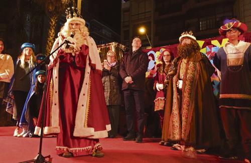 Els Reis d'Orient aterraran el 5 de gener al districte. Foto: Ajuntament