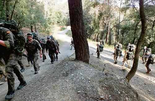 L'Exèrcit no podrà fer pràctiques militars amb armes de foc. Foto: Exèrcit