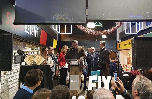 Durant la jornada es van entregar els Premis Eix Sarrià. Foto: Mercats Bcn