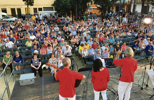 Una de les activitats de l'última Festa Major de Canovelles. Foto:Ajuntament