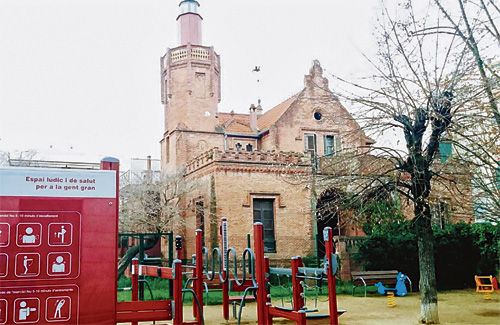 La mesura se centrarà a reformar la Torre Vermella. Foto: Google Maps