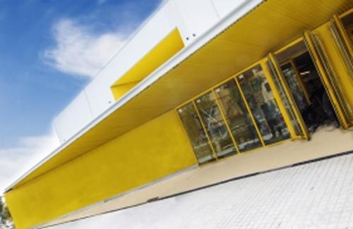 Façana de l'escola Marta Mata. Foto: Ajuntament