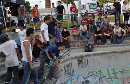 El parc Primer de Maig va ser l'escenari de l'Urban Day. Foto: Ajuntament