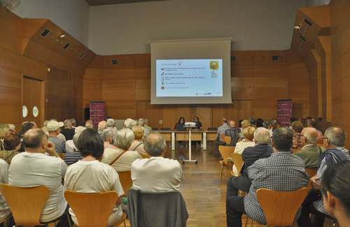 L'acte es va fer l'11 d'octubre al Centre Cultural. Foto:Ajuntament