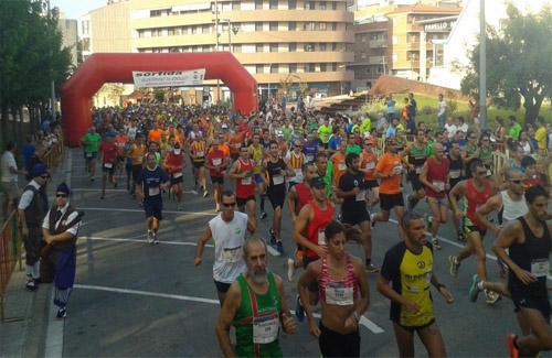 Sortida de la Cursa Popular. Foto: Patronat Municipal d'Esports de Ripollet
