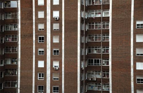 Les entitats financeres disposen de 155 habitatges buits a Cerdanyola. Foto: Arxiu