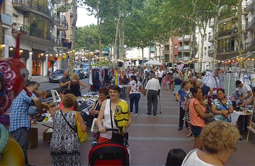 Els carrers de Santa Coloma s'omplen per Setmana Santa. Foto: Arxiu